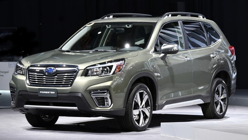 2019 Subaru Forester unveiled – more space, more technology, new 2.5 litre direct-injected boxer engine Image #798759