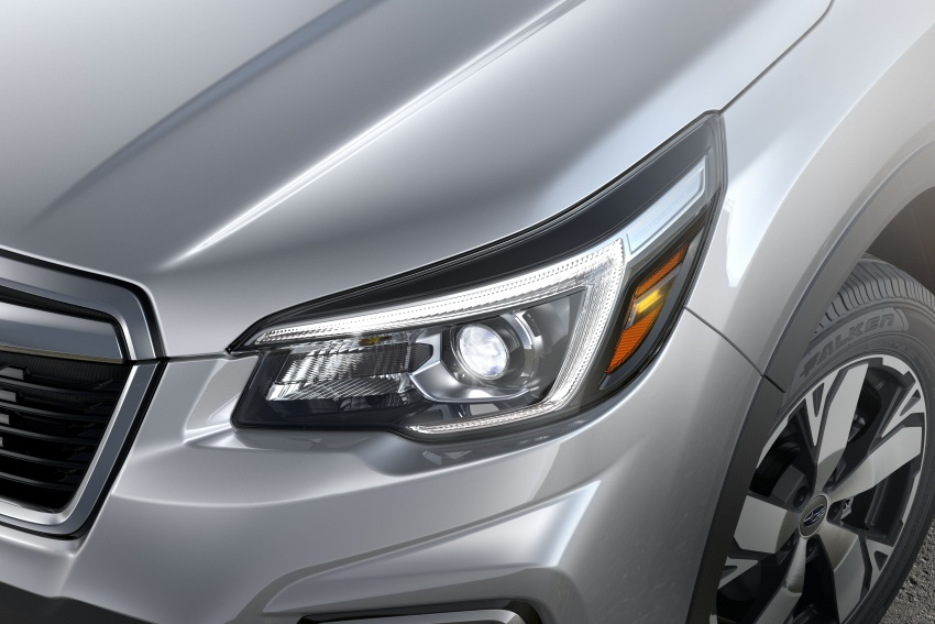 2019 Subaru Forester unveiled – more space, more technology, new 2.5 litre direct-injected boxer engine Image #798822