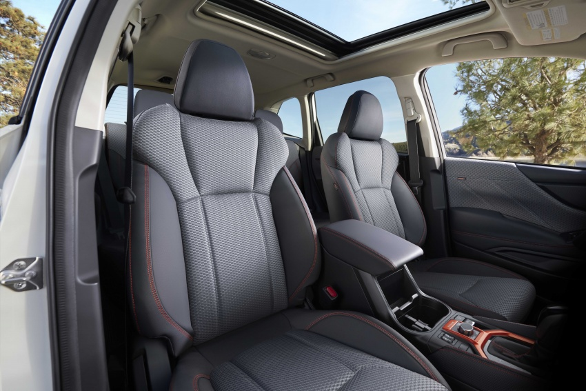2019 Subaru Forester unveiled – more space, more technology, new 2.5 litre direct-injected boxer engine Image #798823