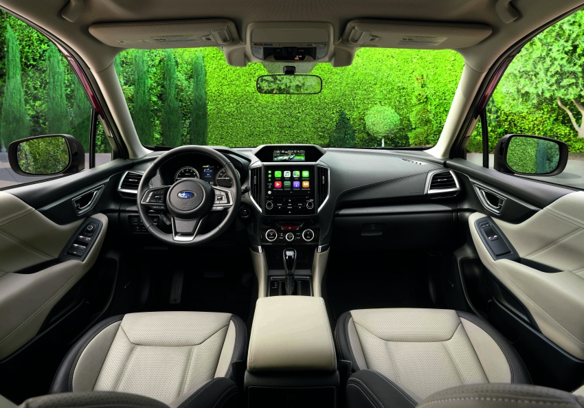 2019 Subaru Forester unveiled – more space, more technology, new 2.5 litre direct-injected boxer engine Image #798825