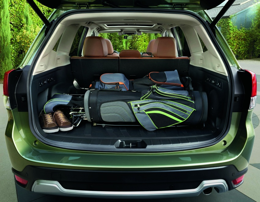 2019 Subaru Forester unveiled – more space, more technology, new 2.5 litre direct-injected boxer engine Image #798827