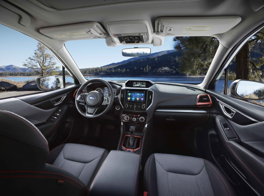 2019 Subaru Forester unveiled – more space, more technology, new 2.5 litre direct-injected boxer engine Image #798829