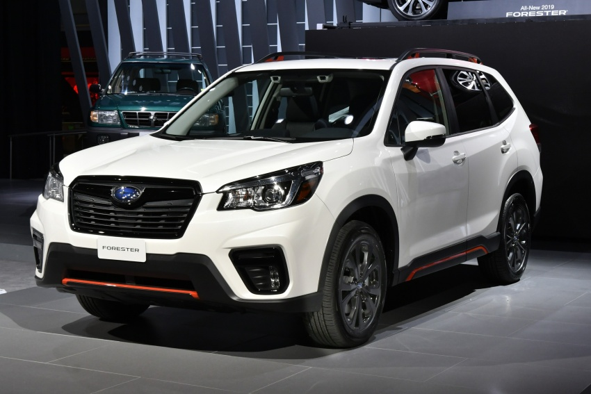 2019 Subaru Forester unveiled – more space, more technology, new 2.5 litre direct-injected boxer engine Image #798760