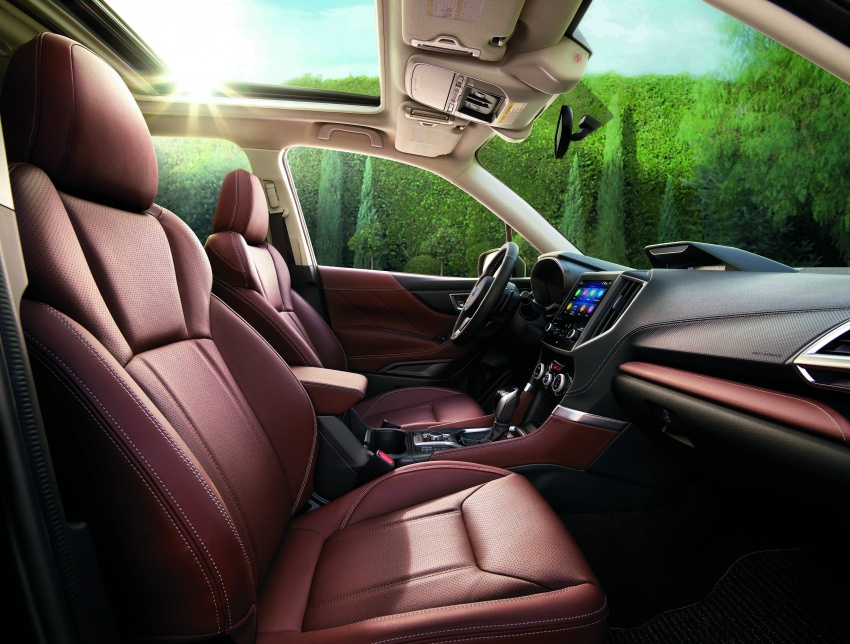 2019 Subaru Forester unveiled – more space, more technology, new 2.5 litre direct-injected boxer engine Image #798830