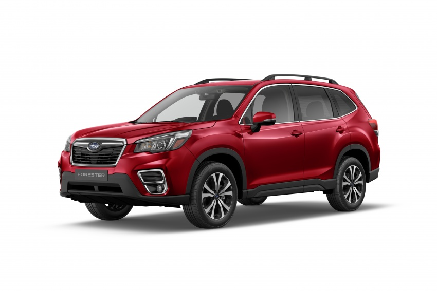 2019 Subaru Forester unveiled – more space, more technology, new 2.5 litre direct-injected boxer engine Image #798834