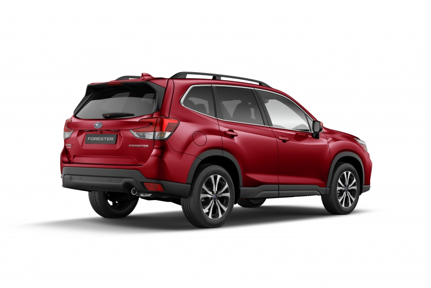 2019 Subaru Forester unveiled – more space, more technology, new 2.5 litre direct-injected boxer engine Image #798836