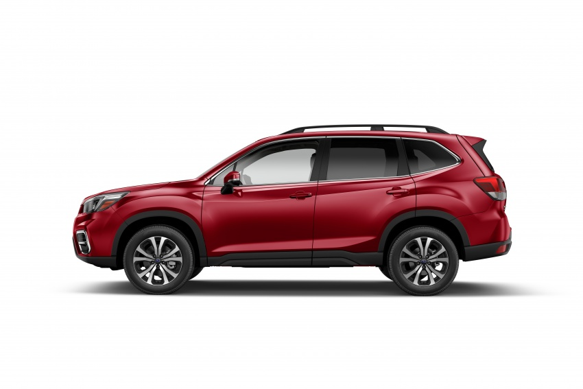 2019 Subaru Forester unveiled – more space, more technology, new 2.5 litre direct-injected boxer engine Image #798837