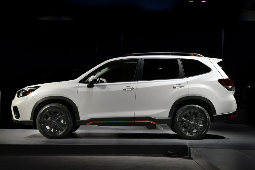 2019 Subaru Forester unveiled – more space, more technology, new 2.5 litre direct-injected boxer engine Image #798761