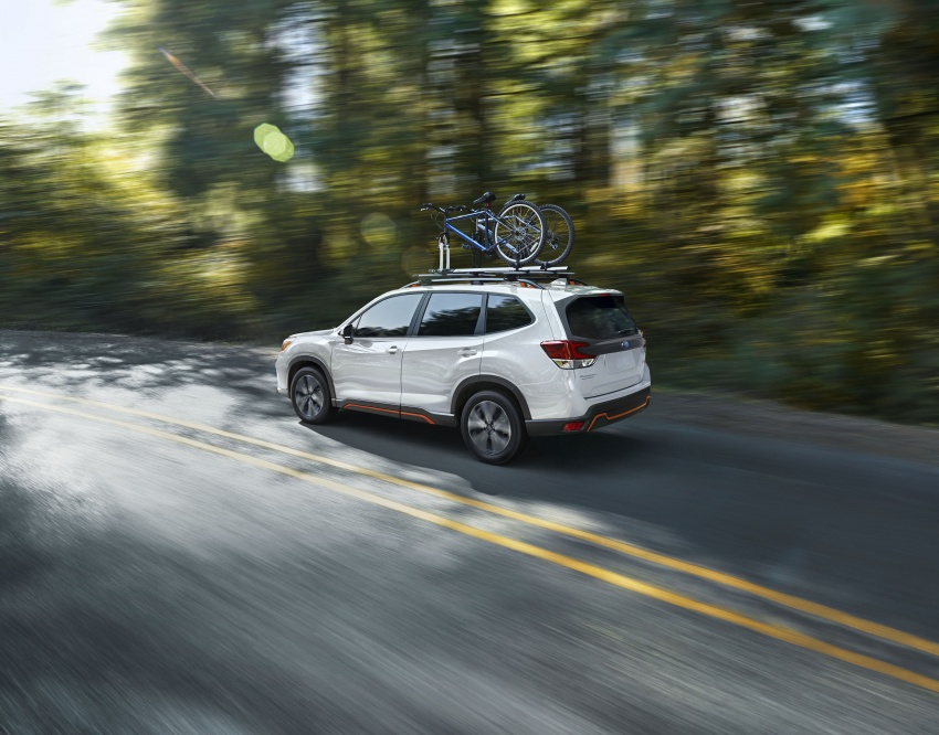 2019 Subaru Forester unveiled – more space, more technology, new 2.5 litre direct-injected boxer engine Image #798841