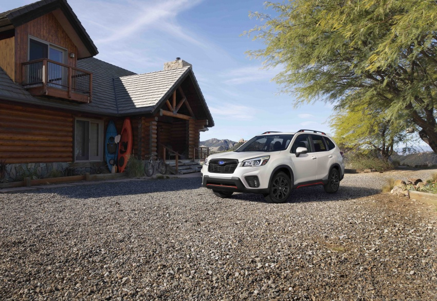 2019 Subaru Forester unveiled – more space, more technology, new 2.5 litre direct-injected boxer engine Image #798846