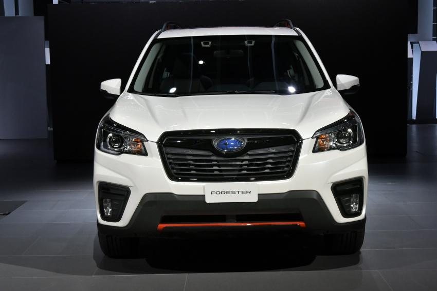 2019 Subaru Forester unveiled – more space, more technology, new 2.5 litre direct-injected boxer engine Image #798762