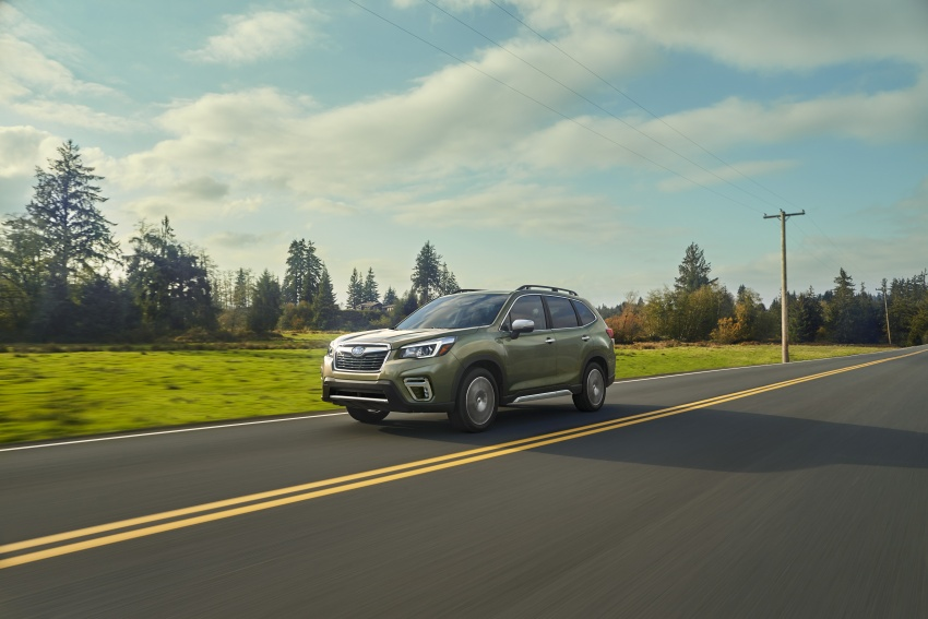 2019 Subaru Forester unveiled – more space, more technology, new 2.5 litre direct-injected boxer engine Image #798852