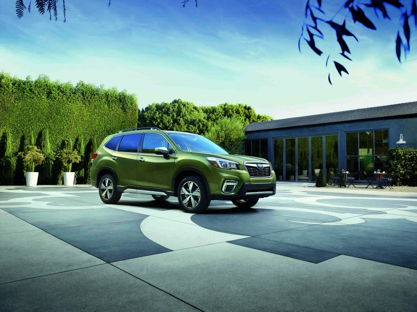 2019 Subaru Forester unveiled – more space, more technology, new 2.5 litre direct-injected boxer engine Image #798854