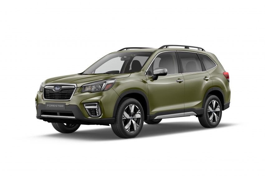 2019 Subaru Forester unveiled – more space, more technology, new 2.5 litre direct-injected boxer engine Image #798855