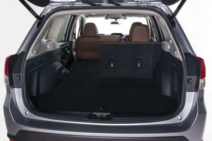 2019 Subaru Forester unveiled – more space, more technology, new 2.5 litre direct-injected boxer engine Image #798860