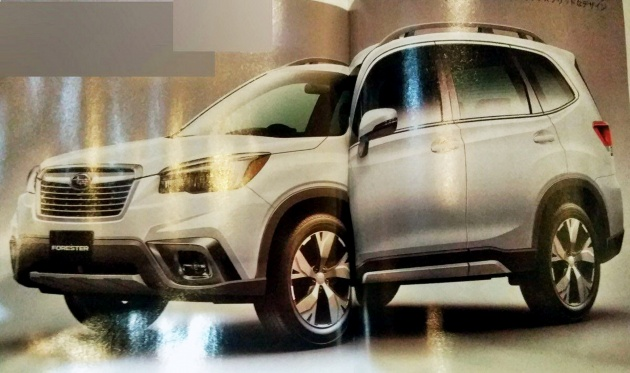 2019 Subaru Forester - images leaked ahead of debut
