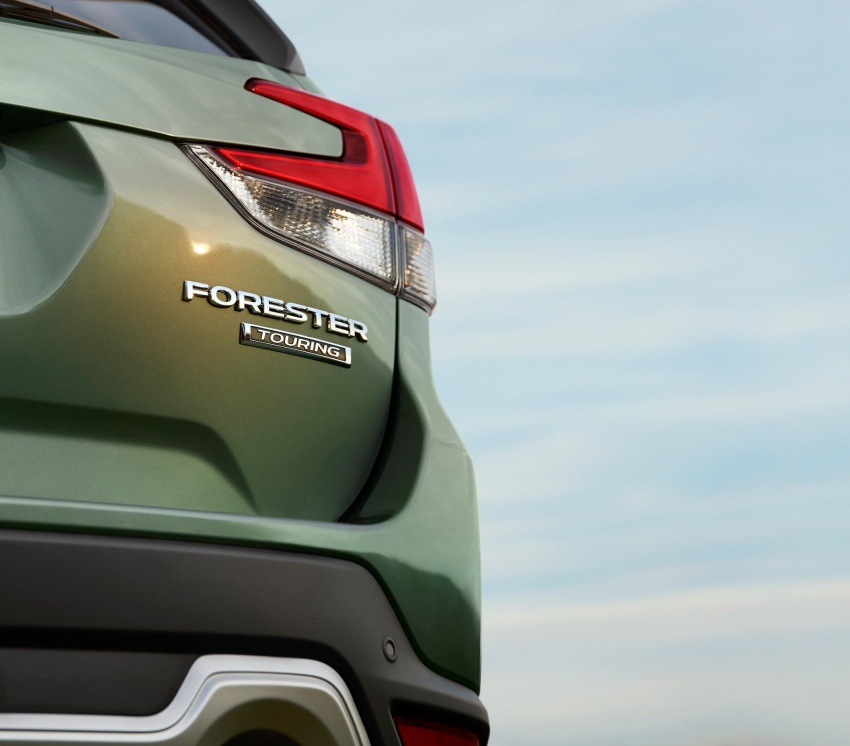 2019 Subaru Forester teased before New York debut Image #796240