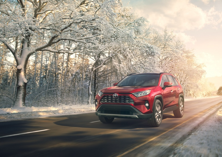 2019 Toyota RAV4 makes its New York debut – TNGA platform, Dynamic Force engines, all-new styling Image #797778