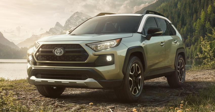 2019 Toyota RAV4 makes its New York debut – TNGA platform, Dynamic Force engines, all-new styling Image #797781