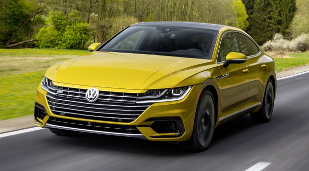 volkswagen arteon gains r line package in the u s. Black Bedroom Furniture Sets. Home Design Ideas