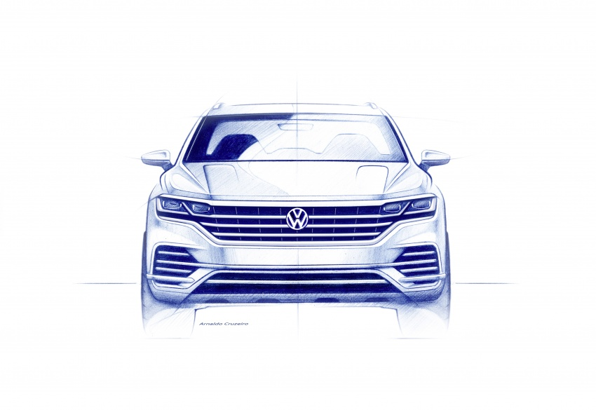 2019 Volkswagen Touareg debuts with 15-inch display Image #795537