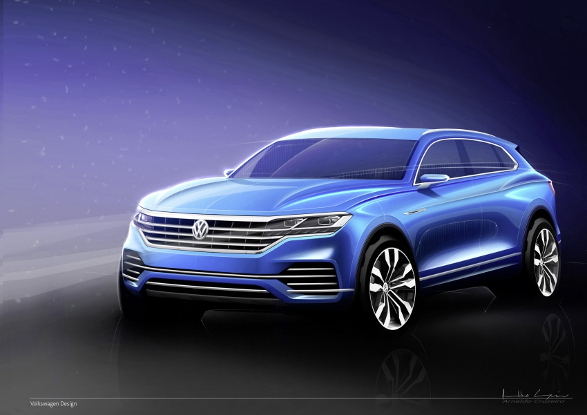 2019 Volkswagen Touareg debuts with 15-inch display Image #795540