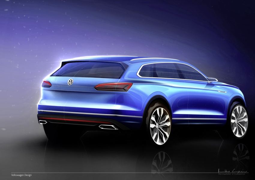 2019 Volkswagen Touareg debuts with 15-inch display Image #795541