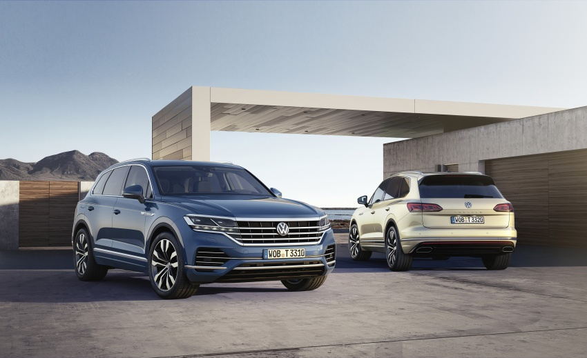 2019 Volkswagen Touareg debuts with 15-inch display Image #795550