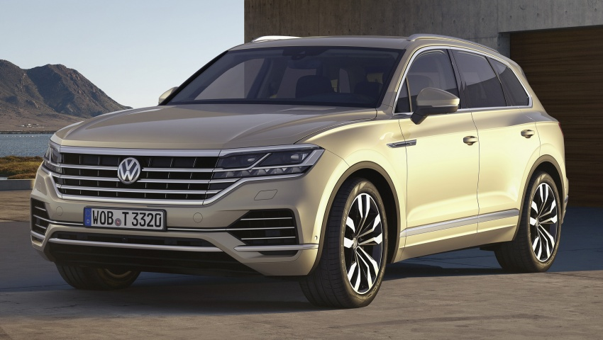 2019 Volkswagen Touareg debuts with 15-inch display Image #795551