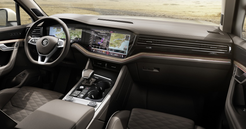 2019 Volkswagen Touareg debuts with 15-inch display Image #795560