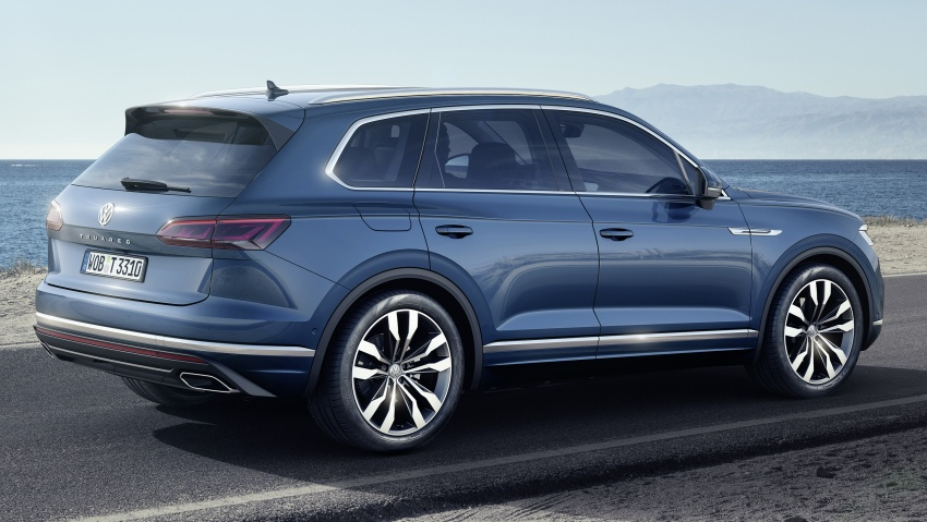 2019 Volkswagen Touareg debuts with 15-inch display Image #795564