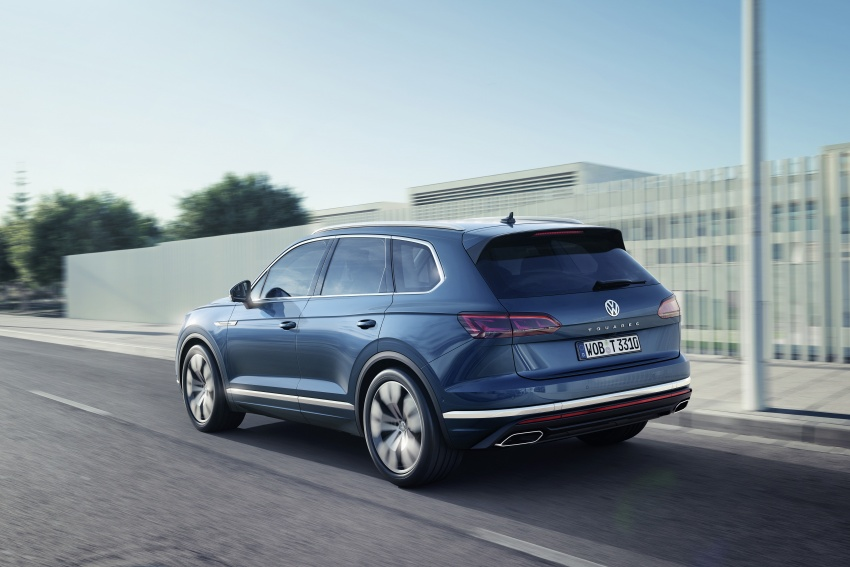 2019 Volkswagen Touareg debuts with 15-inch display Image #795566