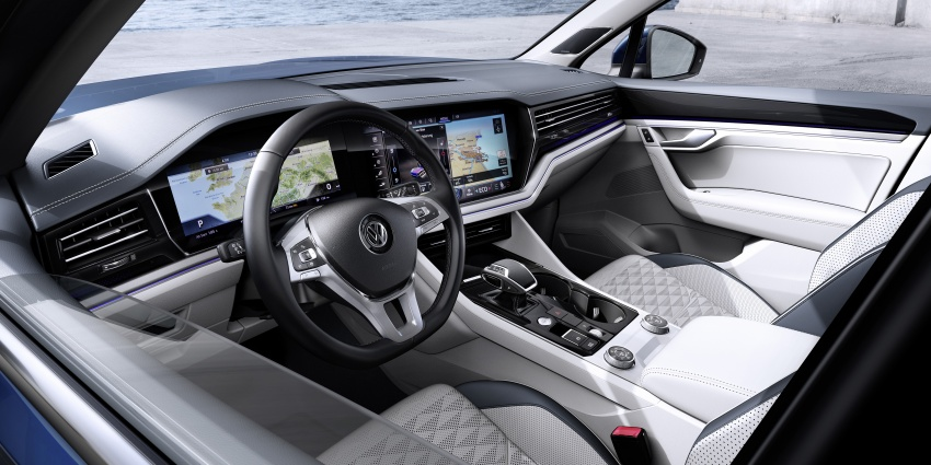 2019 Volkswagen Touareg debuts with 15-inch display Image #795569