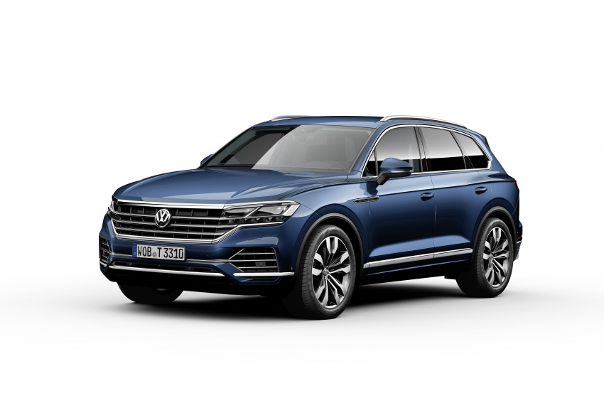 2019 Volkswagen Touareg debuts with 15-inch display Image #795579