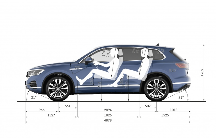 2019 Volkswagen Touareg debuts with 15-inch display Image #795519
