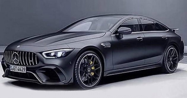 mercedes-amg 'gt4' four-door official image leaked