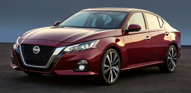 2019 Nissan Altima New Teana Debuts With Variable Compression