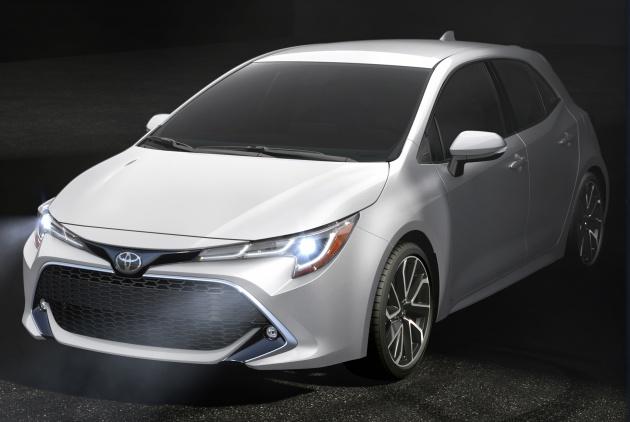 Toyota Corolla Hatchback Us Spec Auris Unveiled