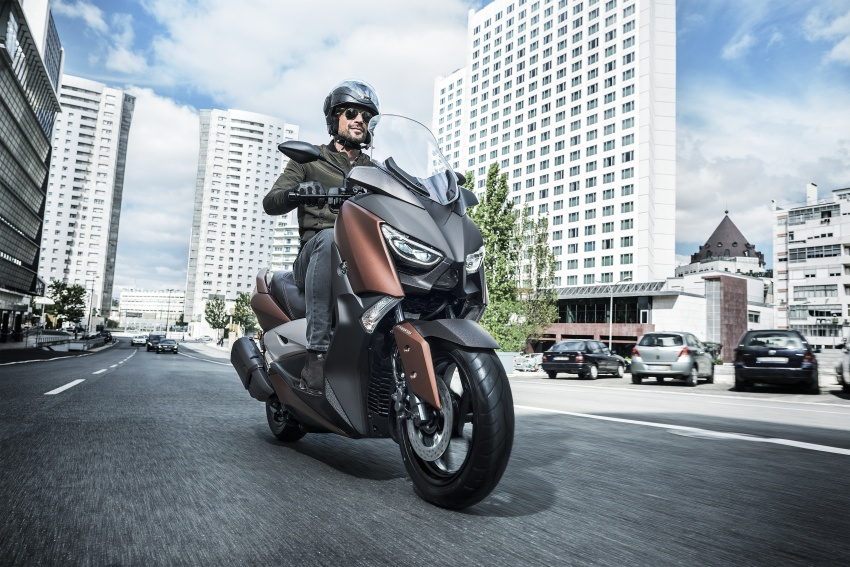 2018 Yamaha XMax 250 in M'sia end March – RM22k Image #789248
