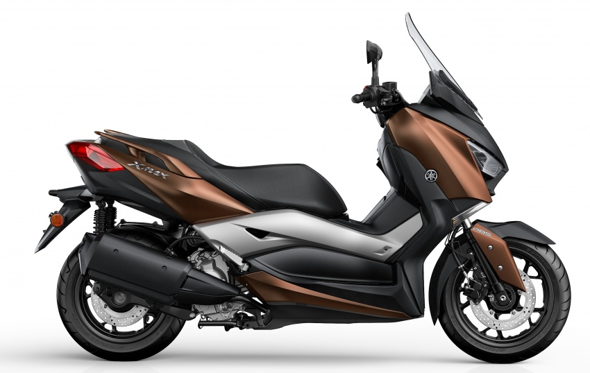 2018 Yamaha XMax 250 in M'sia end March – RM22k Image #789278