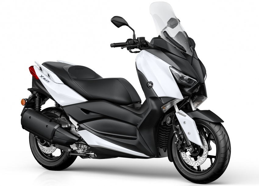 2018 Yamaha XMax 250 in M'sia end March – RM22k Image #789280