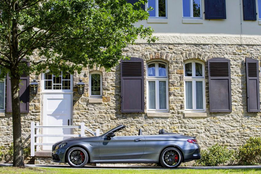 Mercedes-AMG C63 facelift debuts with new 9G auto Image #955950
