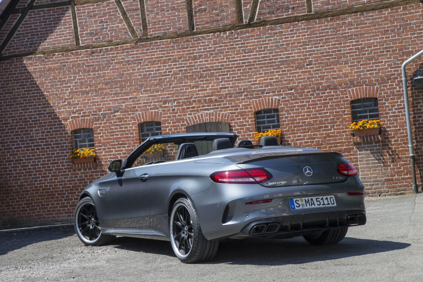 Mercedes-AMG C63 facelift debuts with new 9G auto Image #955959