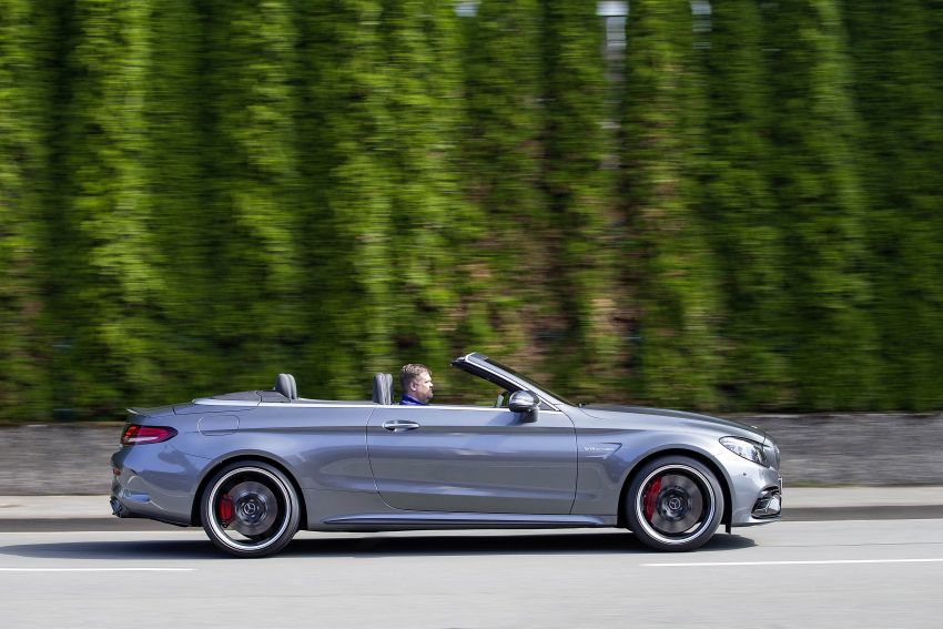 Mercedes-AMG C63 facelift debuts with new 9G auto Image #955961