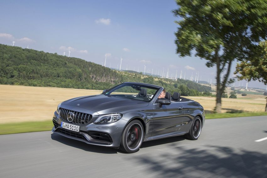 Mercedes-AMG C63 facelift debuts with new 9G auto Image #955964