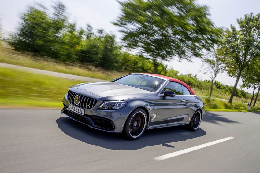 Mercedes-AMG C63 facelift debuts with new 9G auto Image #955965