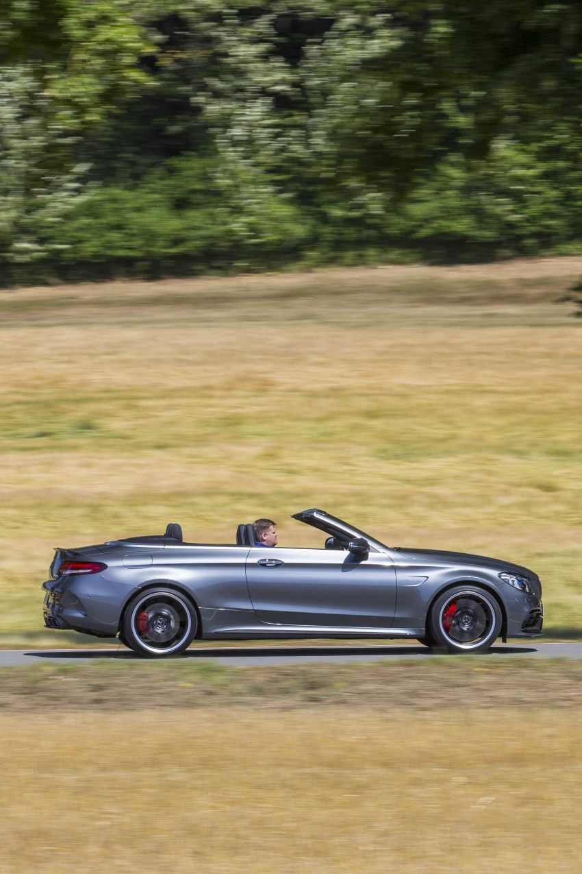 Mercedes-AMG C63 facelift debuts with new 9G auto Image #955967