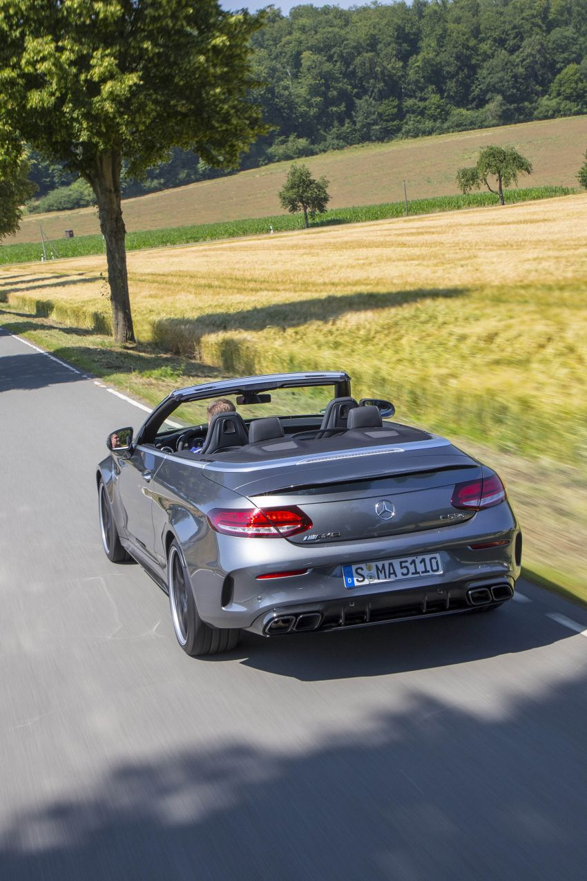 Mercedes-AMG C63 facelift debuts with new 9G auto Image #955968