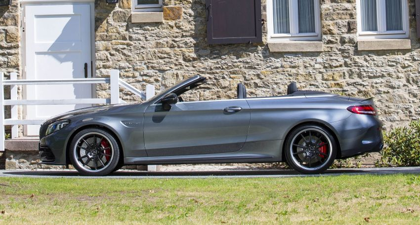 Mercedes-AMG C63 facelift debuts with new 9G auto Image #955951