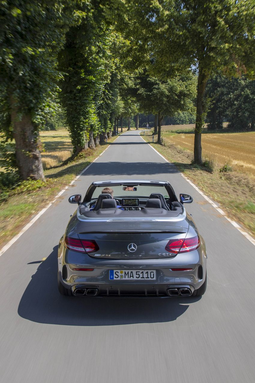 Mercedes-AMG C63 facelift debuts with new 9G auto Image #955969
